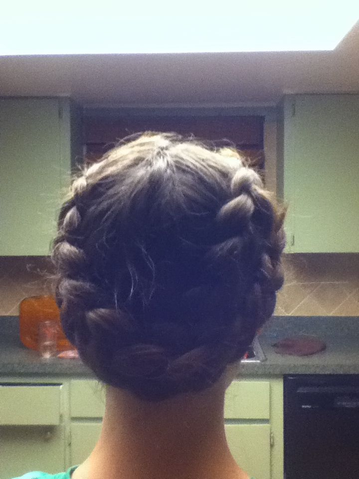 Awesome braid- only takes like 10 or so minutes