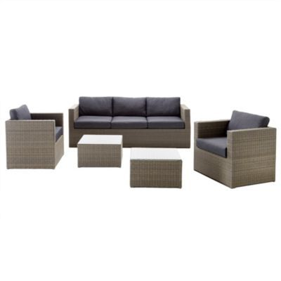 wholeHome  MD  New York  5 Piece Deep Seating Conversation Patio Set. wholeHome  MD  New York  5 Piece Deep Seating Conversation Patio