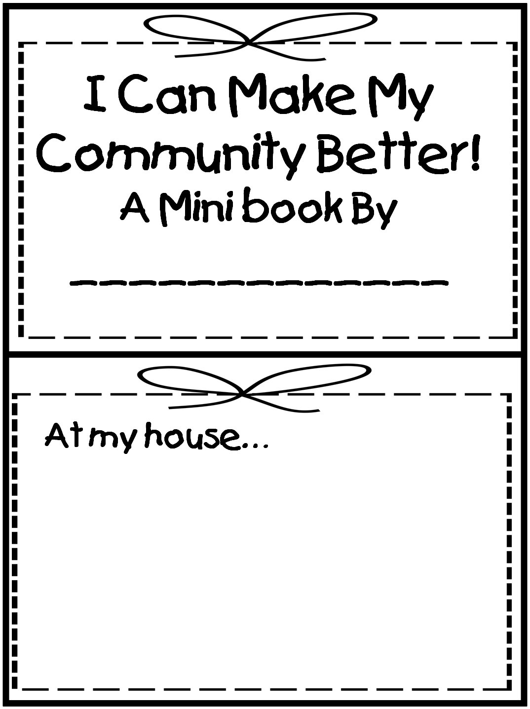 Need To Print Off And Use Next Week For Neighborhoods And Community First Grade Wow Search