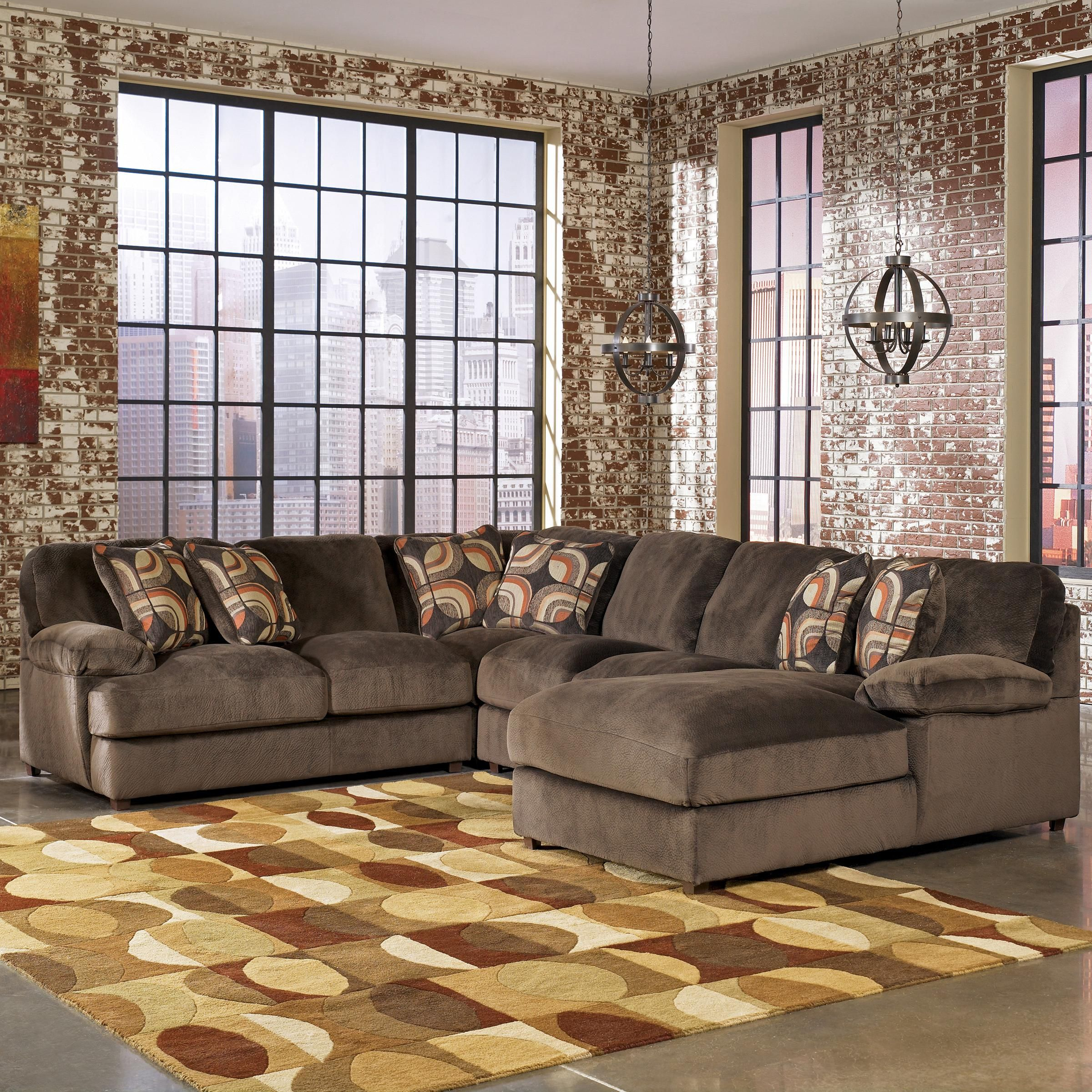 Truscotti   Cafe 4 Piece Sectional By Signature Design By Ashley #WFwishlist