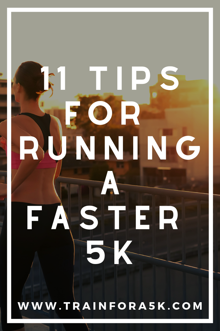Learn the tips of race training and how to run a faster 5k pace.