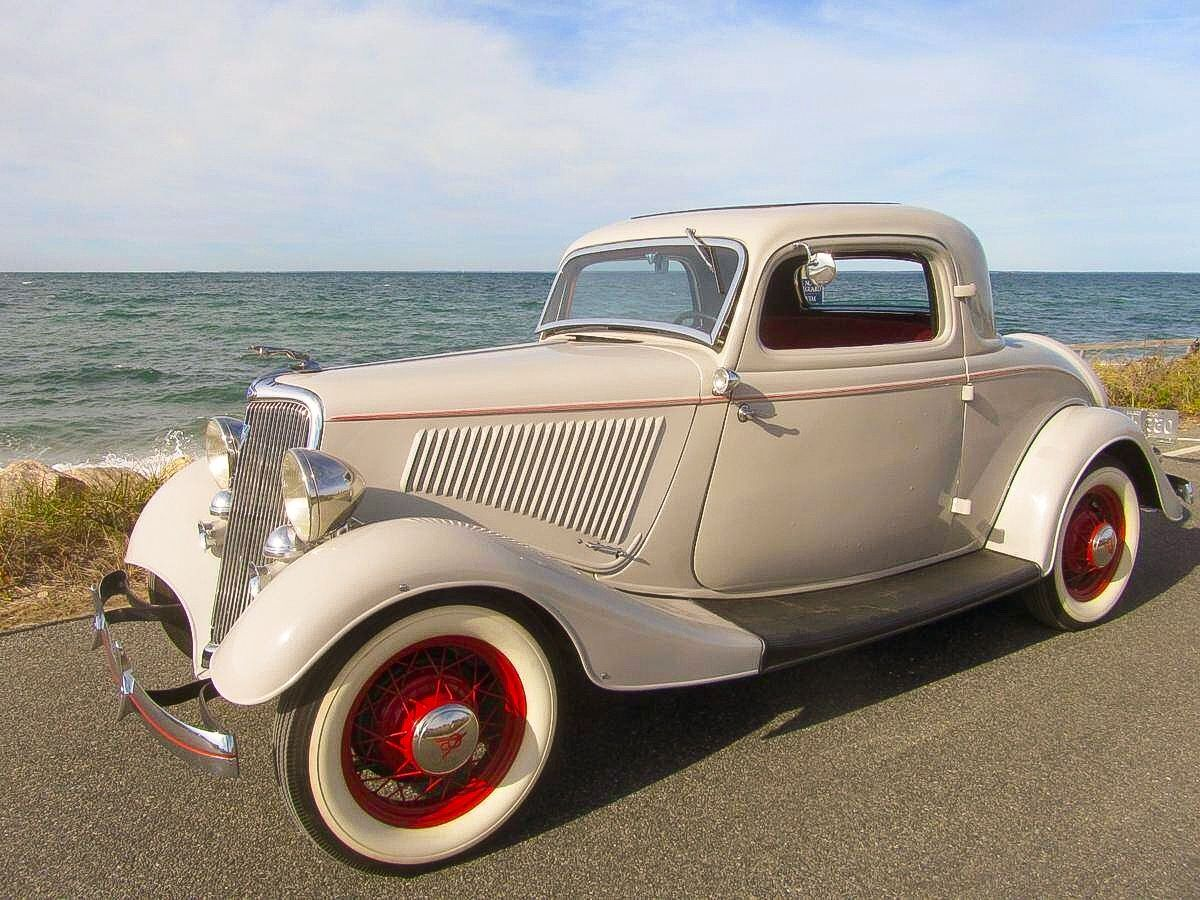 1934 Ford 3 Window Coupe...many of the cars were chopped up to make ...