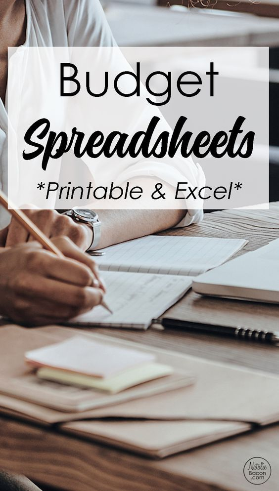 Budget Spreadsheet Budgeting and Monthly budget
