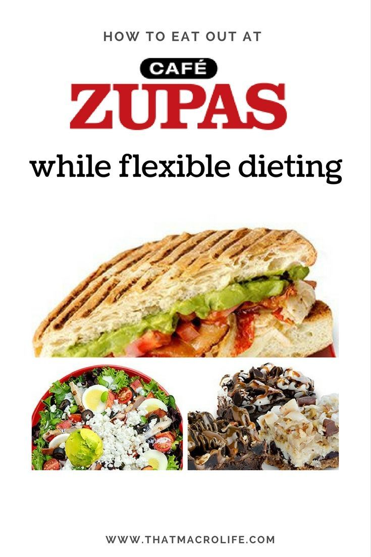 How To Eat Out While Tracking Macros Zupas Dinner Ideas Macros