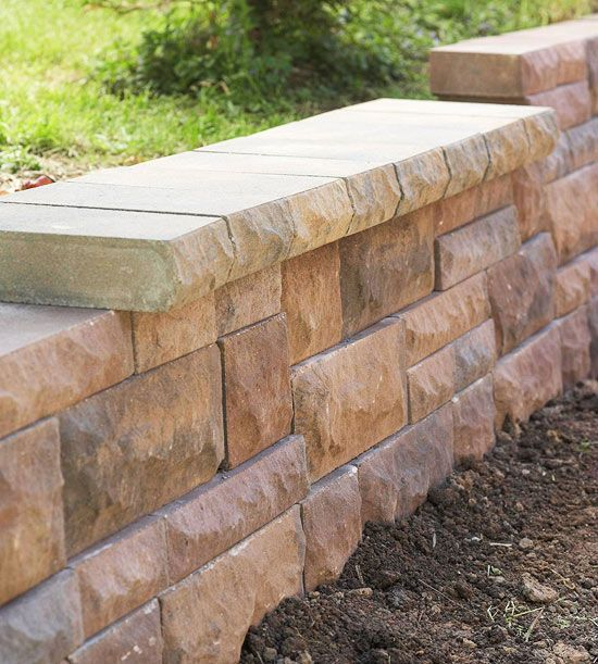 Build Landscape And Retaining Walls And Keep Them In Tip Top