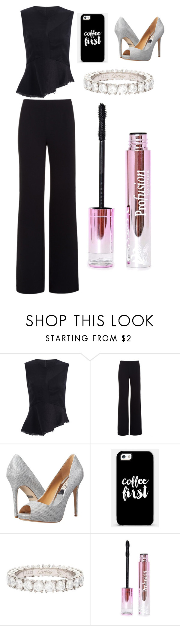 """""""Sans titre #852"""" by merveille67120 ❤ liked on Polyvore featuring Alexander Wang, Badgley Mischka, Casetify and Cartier"""