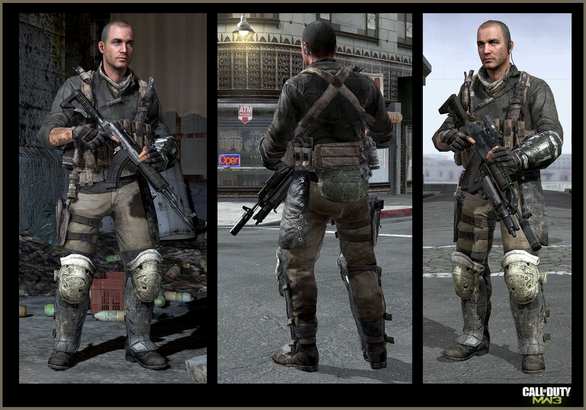 Call Of Duty Mw3 Activision Infinity Ward Jake Rowell Character Art Marketing Image Call Of Duty Modern Warfare Infinity Ward