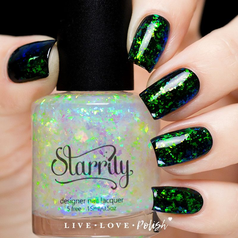 Northern Lights https://www.livelovepolish.com/products/starrily ...