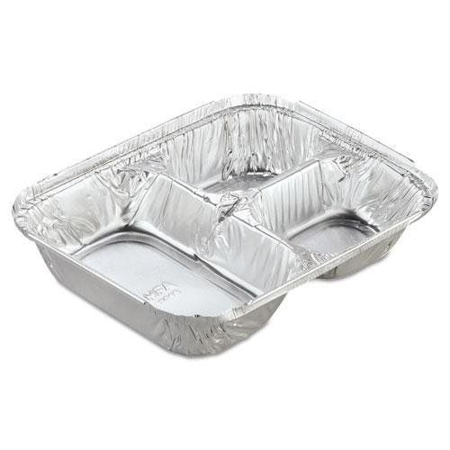 Hfa 204535 250w Aluminum 3 Compartment Oblong Tray With Board Lid