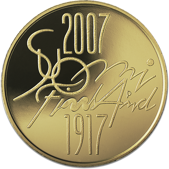 Suomen itsenäisyys 90 v.