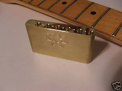 kgh brass strat trem block strat guitar diy upgrades pinterest