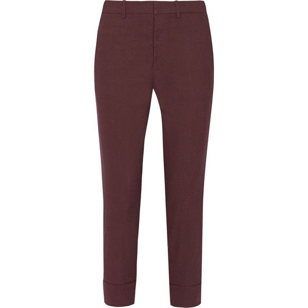 Cropped Blend Marni Linen Stretch Pants340 WHIeD9E2Y