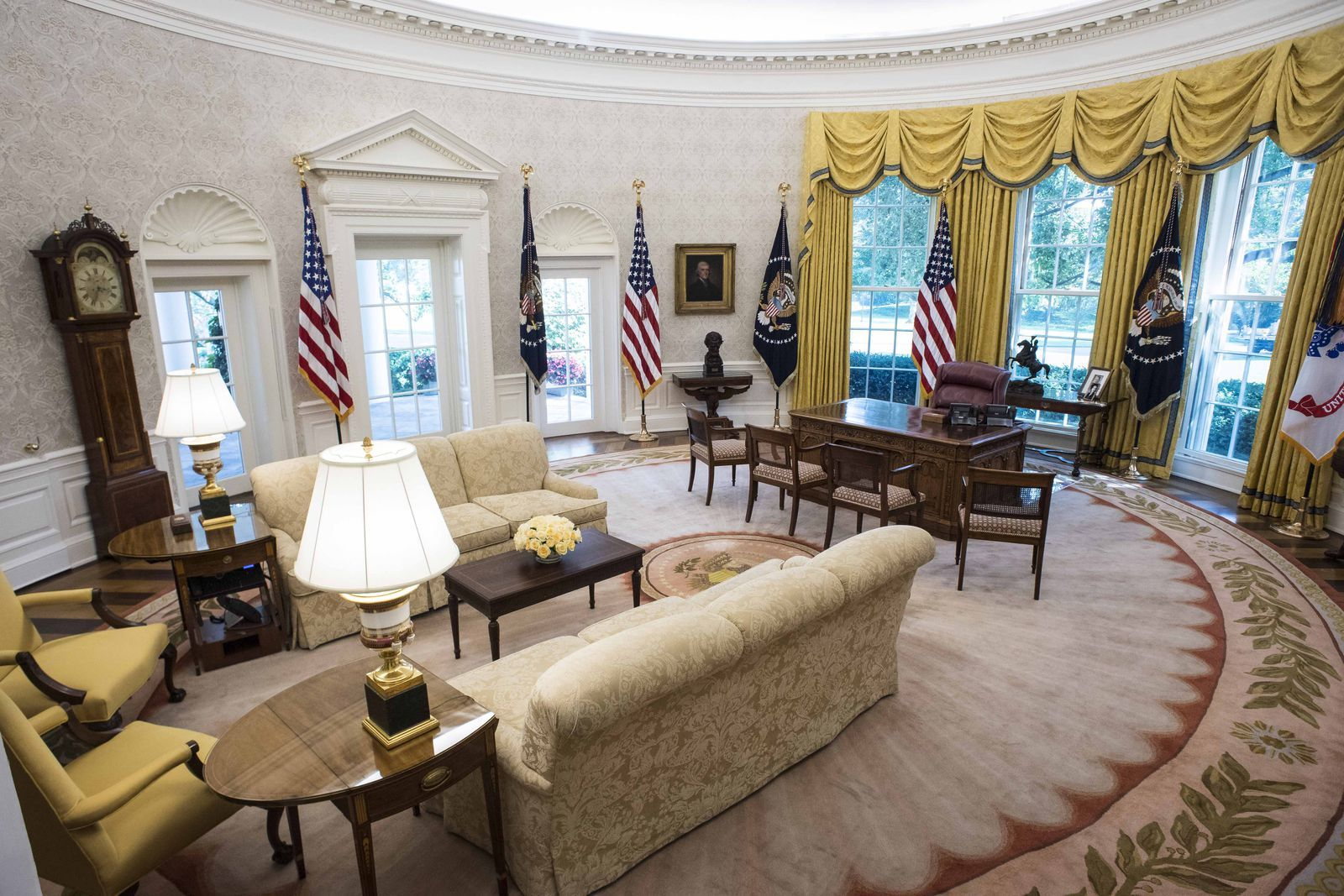 The Oval Office Through The Years In Photos White House