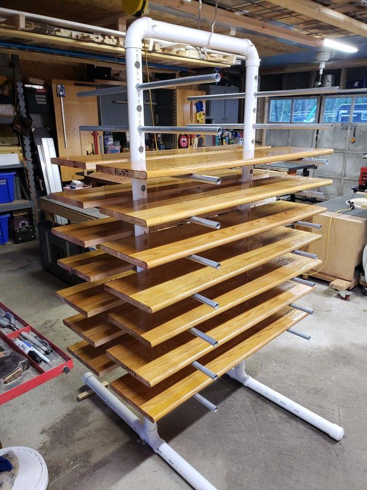 Best Prefinishing Oak Stair Treads 400 x 300