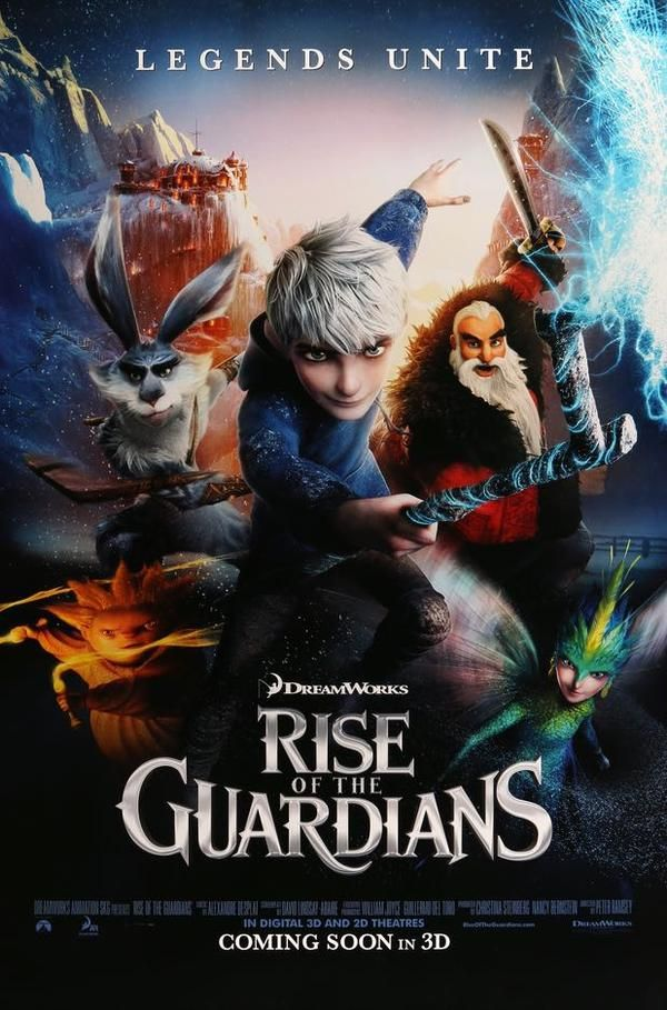 Pin On Rise Of The Guardians