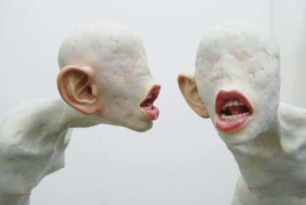 Strange Human Sculptures By Choi Xooang