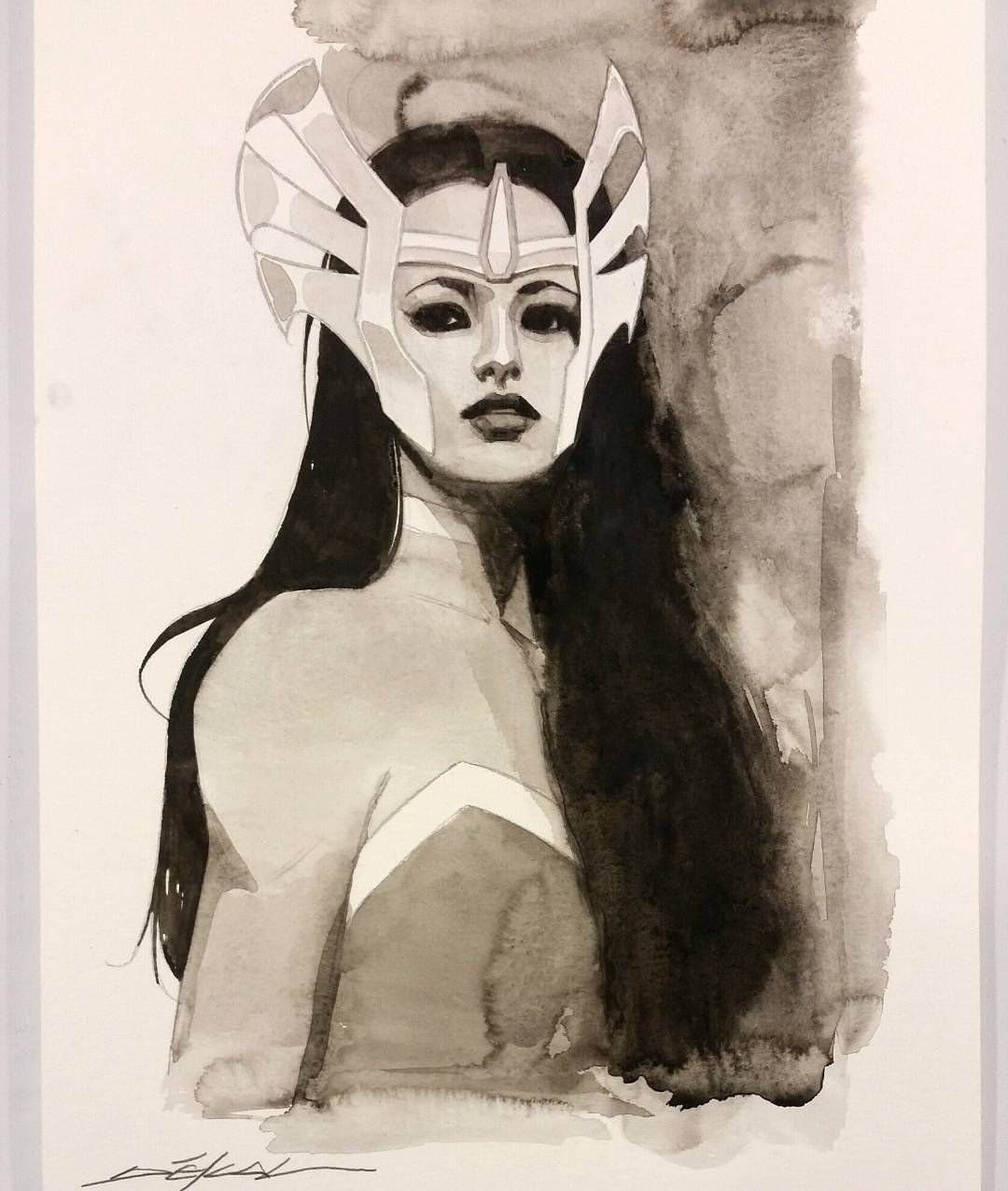 Lady Sif By Artist Jeff Dekal (With Images)