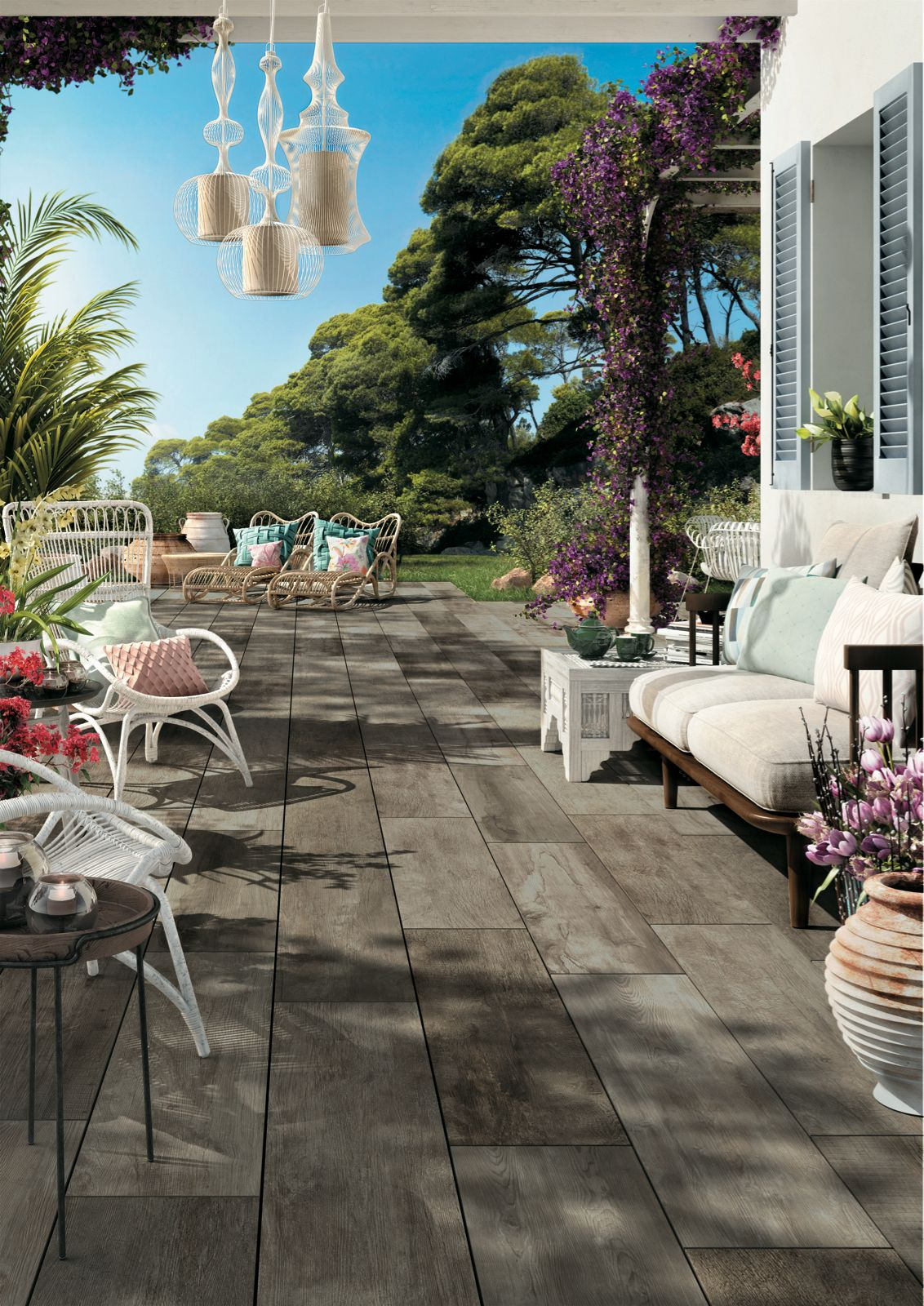Mirage Porcelain Tiles Offer The Look Of Wood, But The Durability Of  Traditional Pavers
