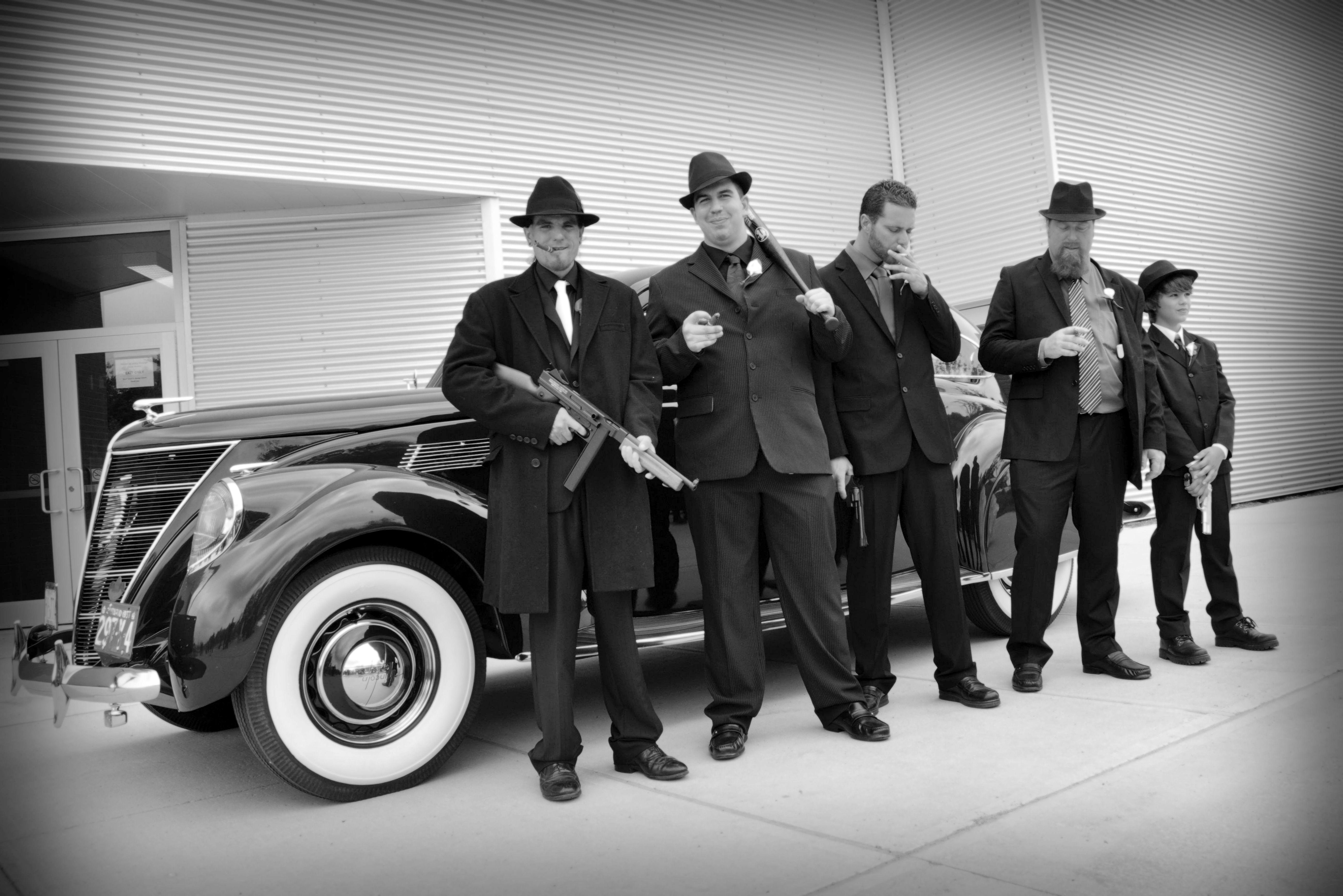 My 1920 S Gangster Wedding 1920 S 1930 S Pinterest
