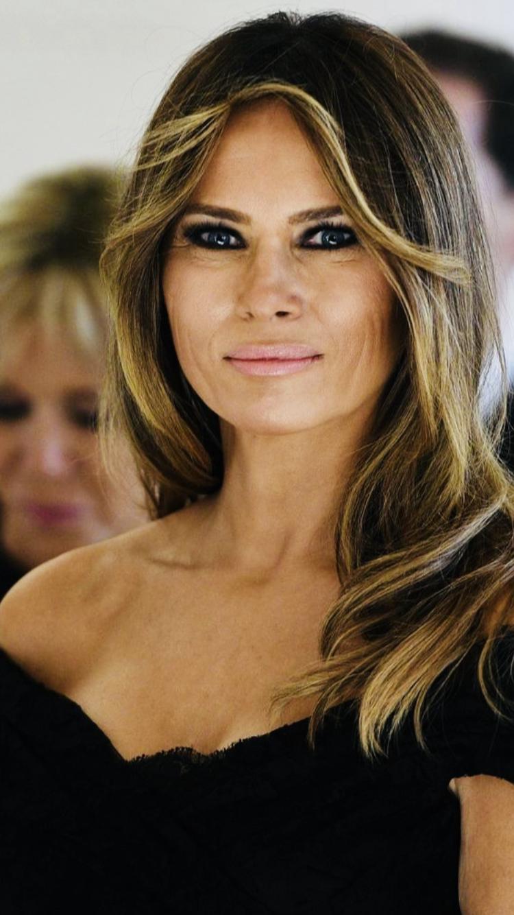 First Lady Melania Trump Trump hair, First lady melania