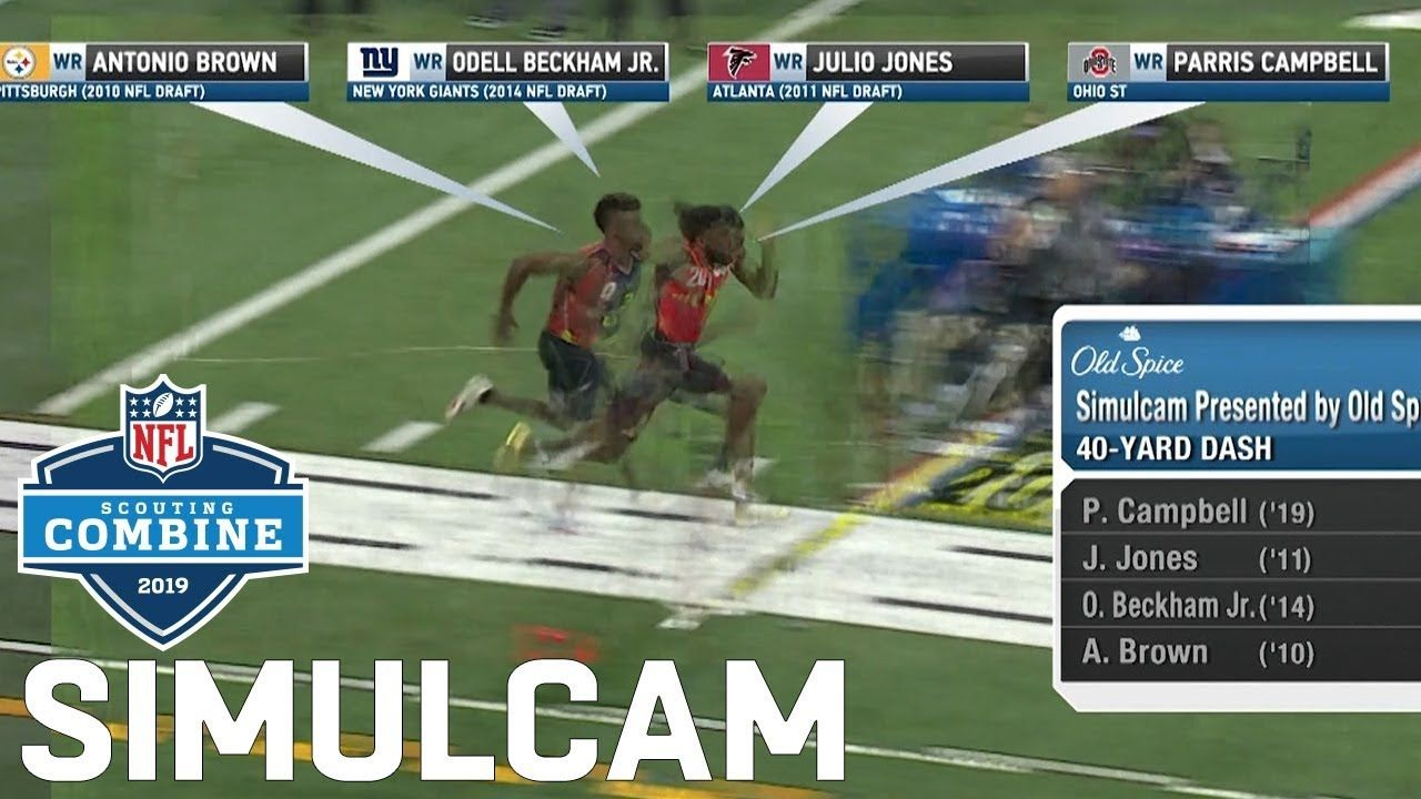 40 Yard Dash Simulcam Metcalf Vs Julio Ramsey Sherman Haskins Vs Baker More Youtube With Images Ramsey Odell Beckham Jr Beckham Jr