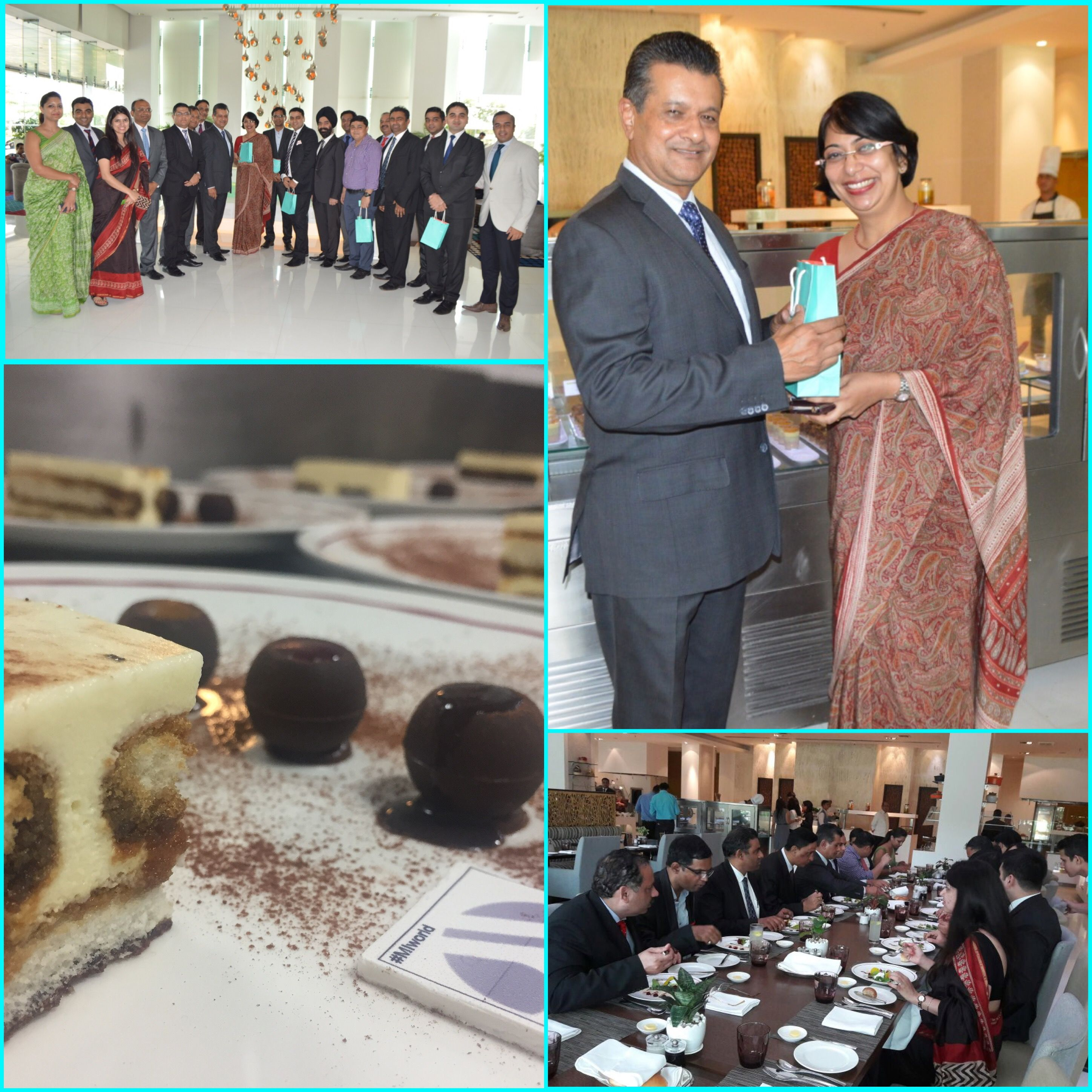 We played host to our new family entrant Marriott International and spent the day well with scrumptious lunch & delightful conversation. Courtyard Marriott Gurgaon  #Togetherwearebetter #MIAPAC #MIWorld #JourneyStartsHereAP