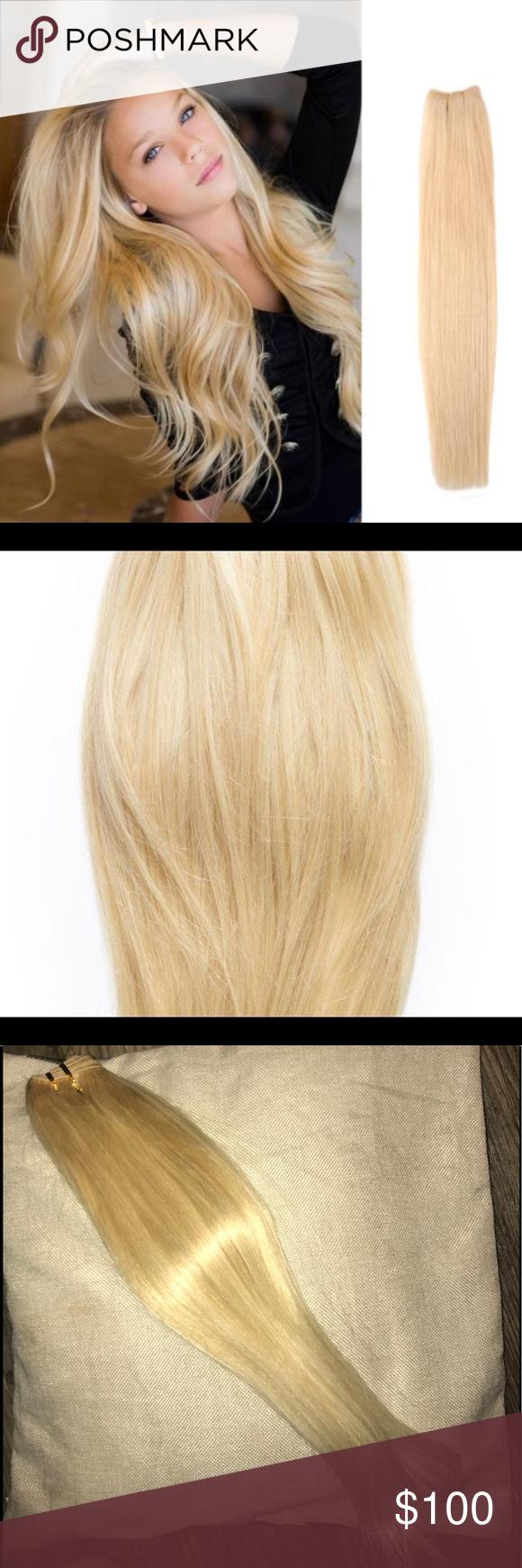 Best Quality Remy Virgin Hair Platinum Blonde Nwt Best Quality