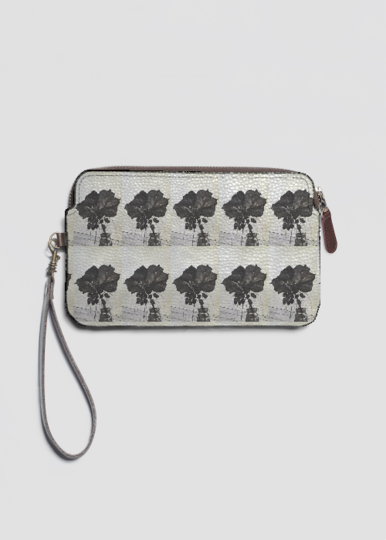 VIDA Statement Clutch - Poppy flowers love by VIDA