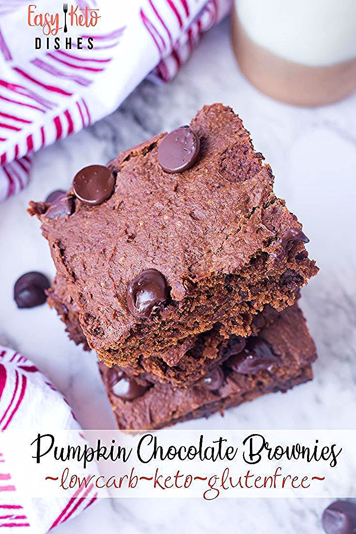 Just under 3 net carbs, and loads of flavor make this brownie recipe a MUST make for the entire fam