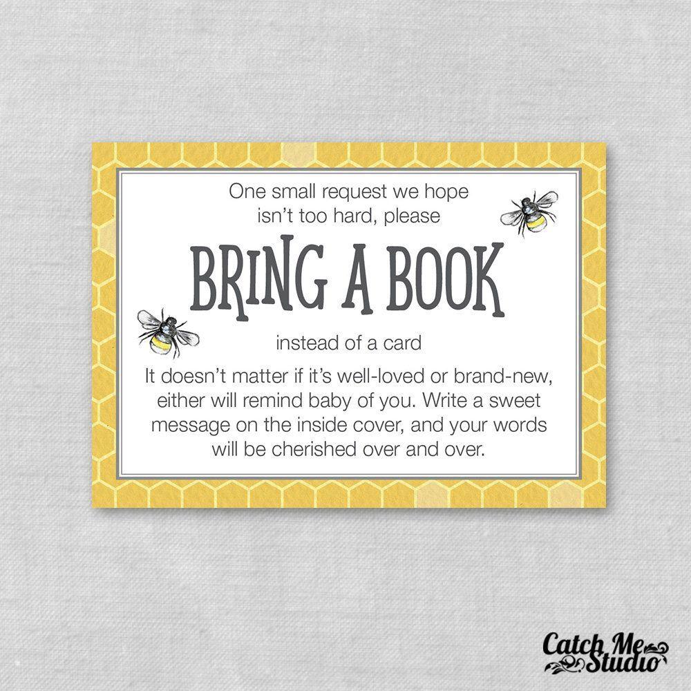 20+ Bring a book baby shower verbiage ideas