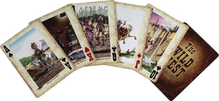 Western Humorous Playing Cards Fun card games, Cards