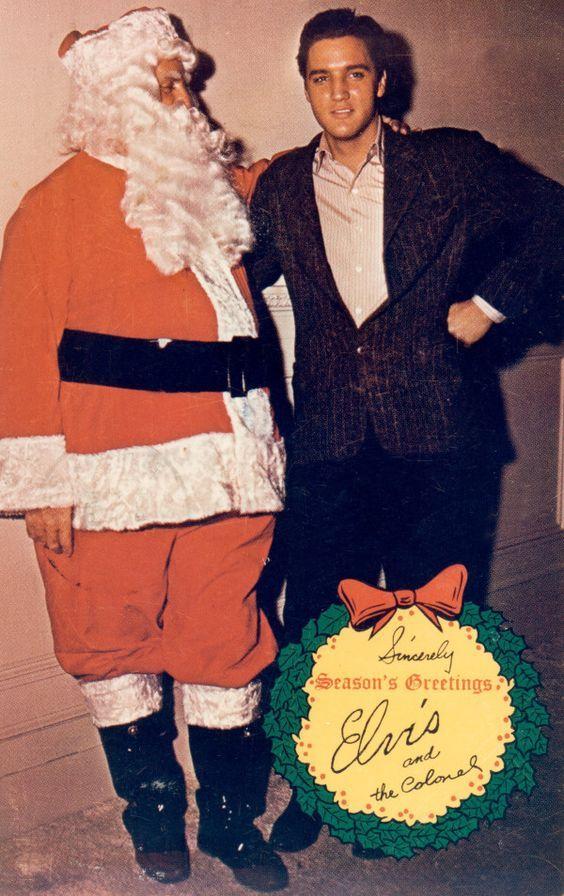 Elvis Presley\'s Christmas Card, 1965: Happy Holidays!   Vintage ...