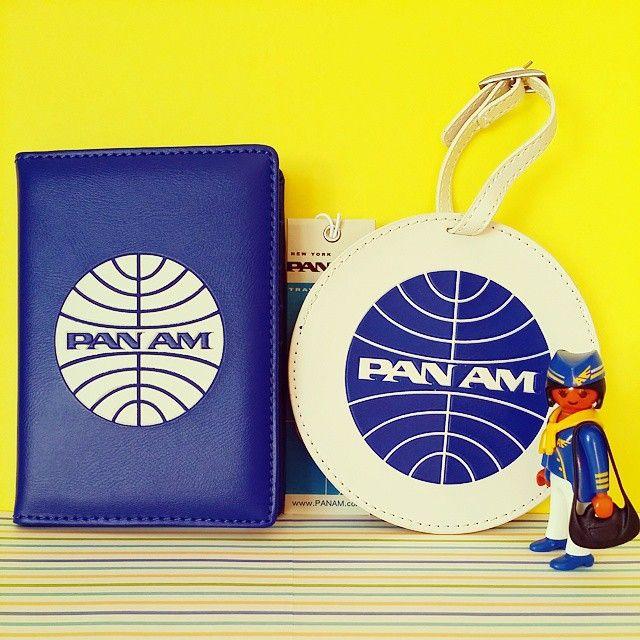 パスポートケースは搭乗の時など度々取り外すのめんどくさいから今までは付けない派だったのにーぃ…! 誘惑に負けたよー!!ι(`ロ´)ノドヤ 買ったからには…1回は使わなきゃな(笑) #PANAM #PanAmericanAirways #Airplane #Airport #パンアメリカン航空 #パンナム #パスポートケース #ネームタグ #playmobil #空の旅