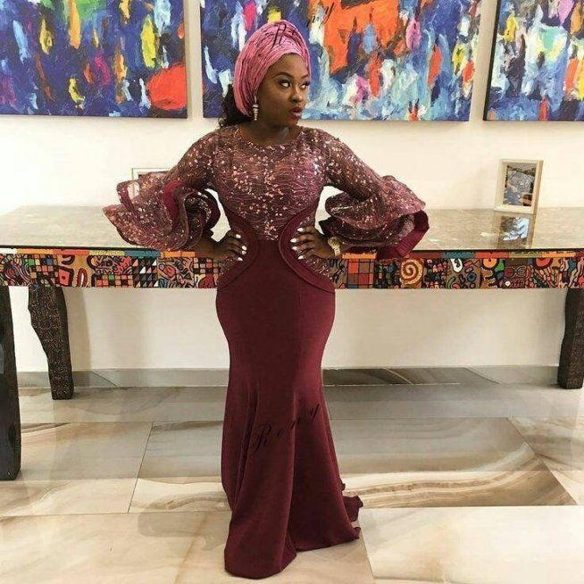 Top 35 Ankara dress style you should try this Year #afrikanischerstil Ankara dress style #nigeriandressstyles