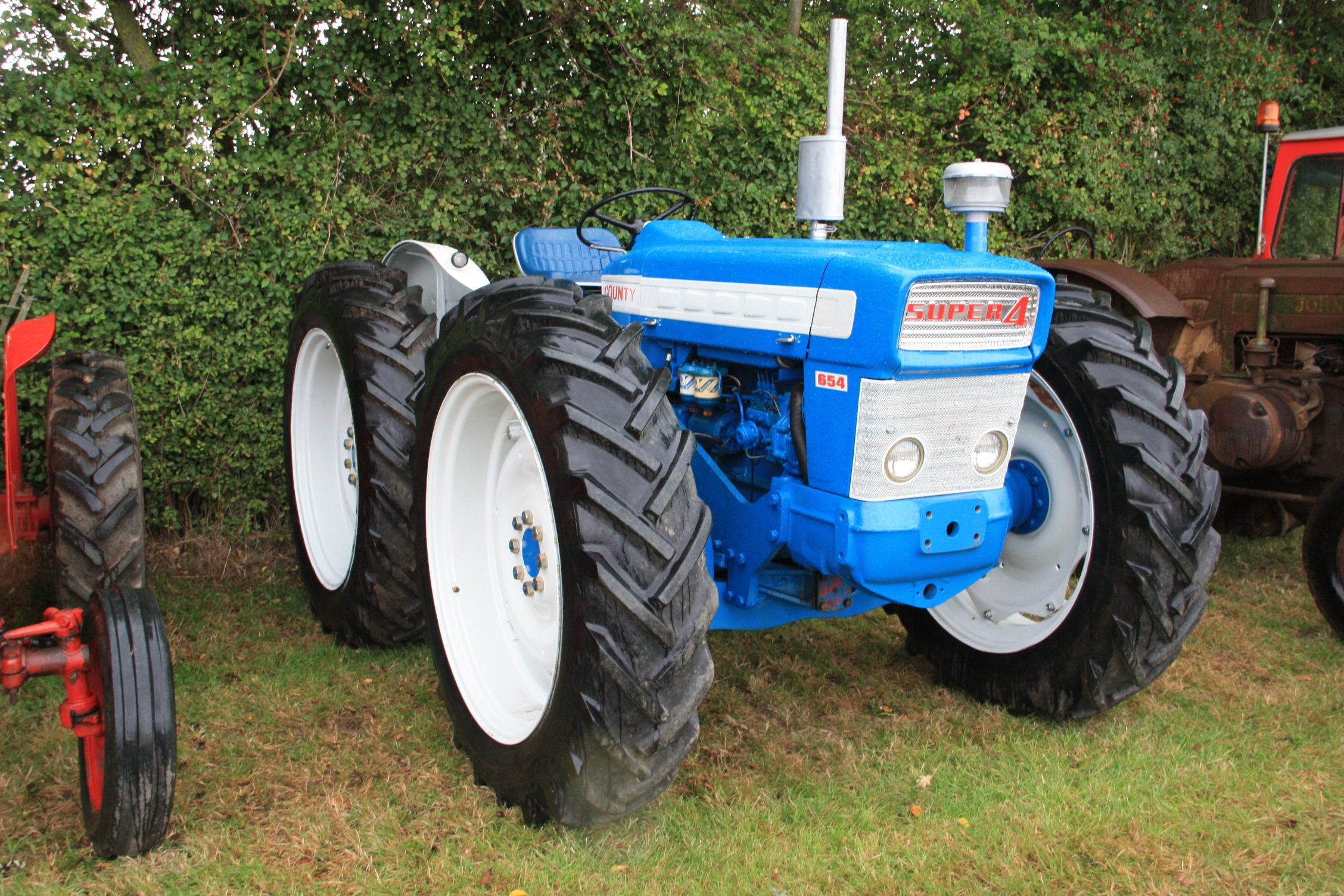 medium resolution of county tractor 654 google search lego tractor classic tractor ford tractors vintage