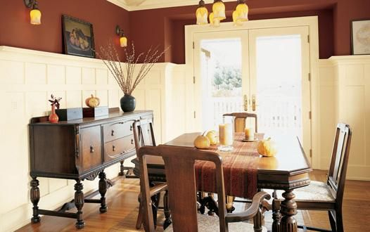 rustic paint ideas for living room dining rooms calico