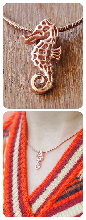 Seahorse pendant seahorses sterling silver and pendants seahorse pendant fashion necklaceunusual aloadofball Image collections