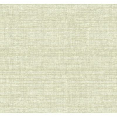 """York Wallcoverings Texture Portfolio Royal Linen 27' x 27"""" Abstract Smooth Wallpaper Color: Pyrite Gold/Shale Brown"""
