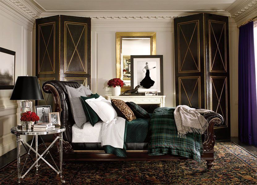 Glamorous Home: Ralph Lauren Home   Apartment No. One Collection