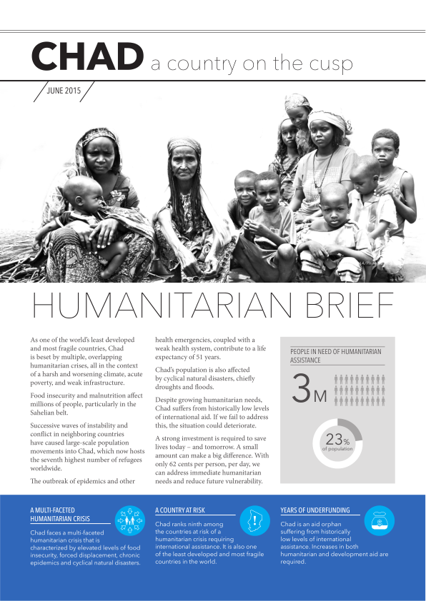 Chad A Country On The Cusp Humanitarian Brief (June