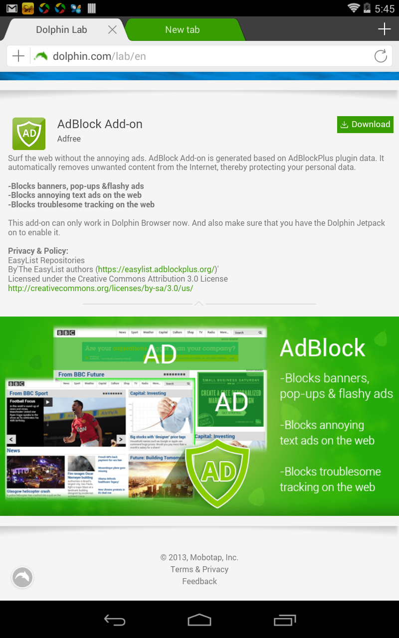 AdBlock, a very necessary tool especially to block annoying pop-ups! AdBlock, una herramienta muy necesaria, especialmente para bloquear los molestos pop-ups!