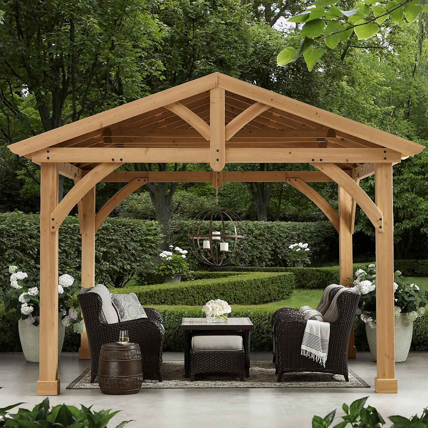 Savannah Pavilion Sam S Club In 2020 Backyard Pergola Outdoor Pergola Pergola Patio