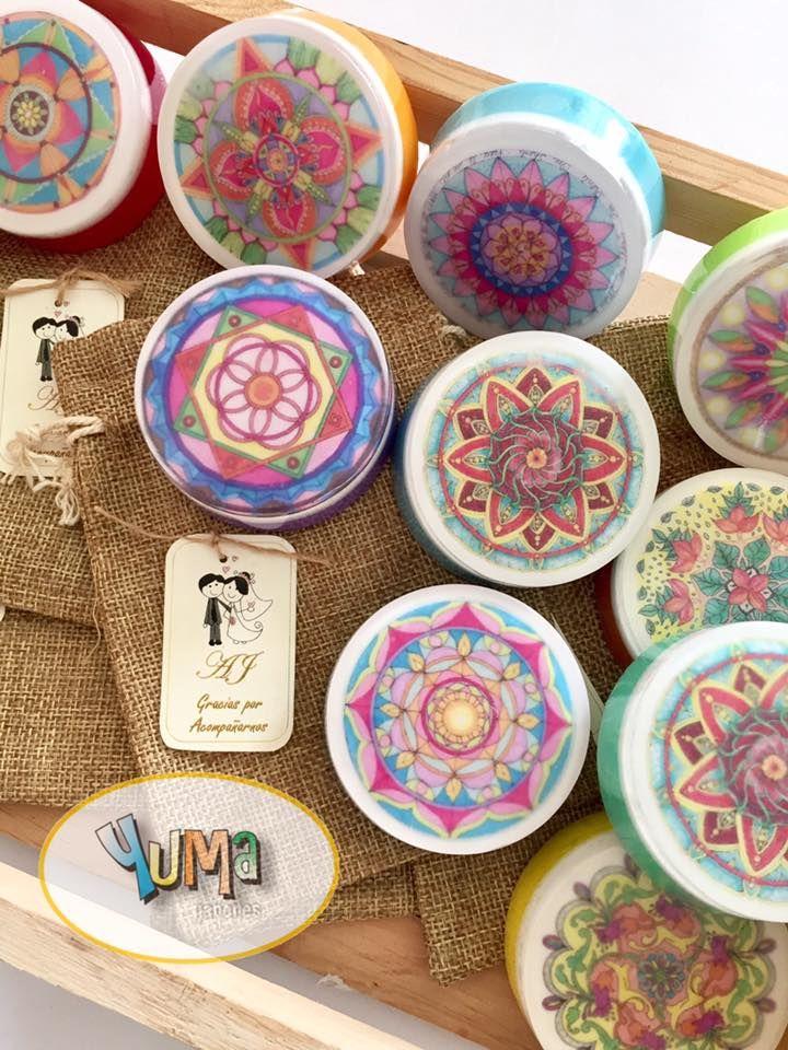 Mandalas en jab n jabones yuma hacer jab n jabones y - Hacer jabones de glicerina decorativos ...