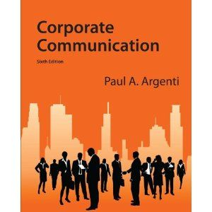 Chapters Include Corporate Responsibility Media Relations