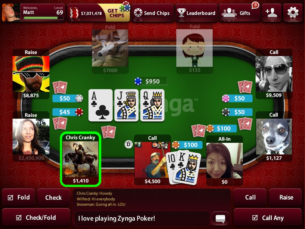 Zynga Poker hit it rich buy cheeps screenshots Google