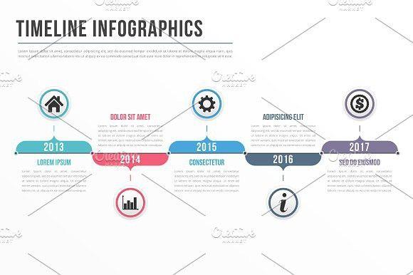 Timeline Infographic Templates $500 Data Stories Pinterest - timeline spreadsheet template