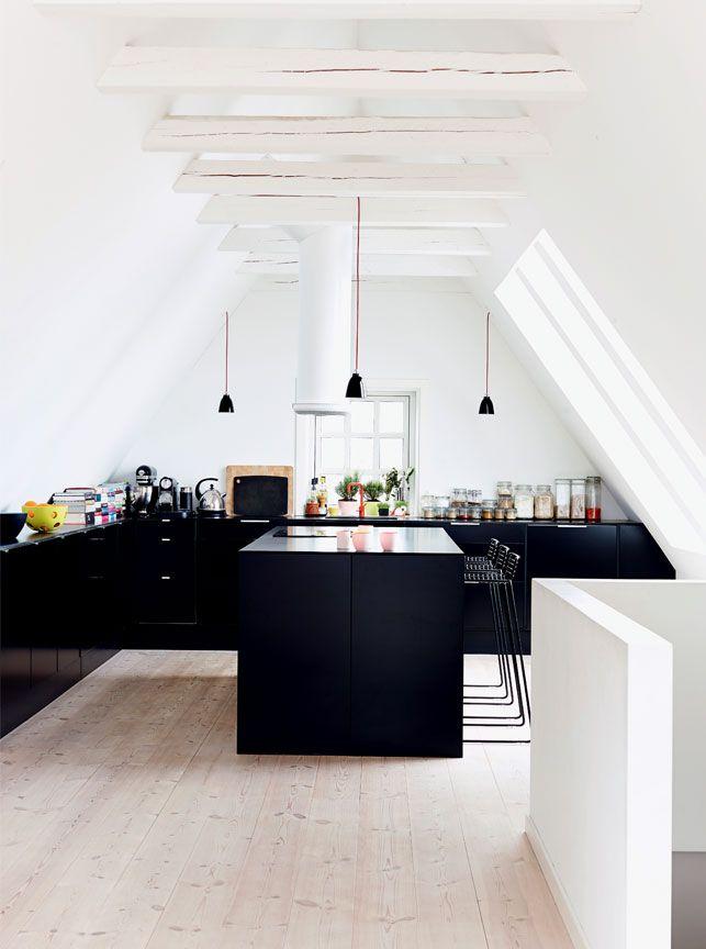 Enkelt og herskabeligt - Boligliv Kitchen Pinterest Copenhagen