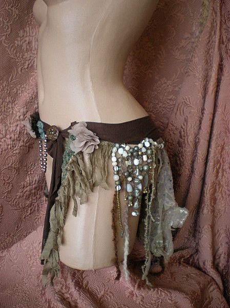 ceinture ou sur jupe hippie bohemien chic gypsy ou m me f rique belt or over skirt gypsy. Black Bedroom Furniture Sets. Home Design Ideas