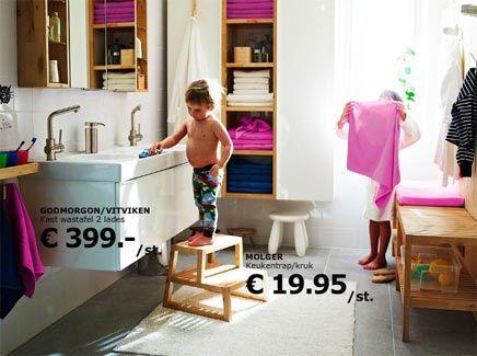 Badkamers voorbeelden IKEA - Badkamer | Pinterest - Badkamers, Ikea ...