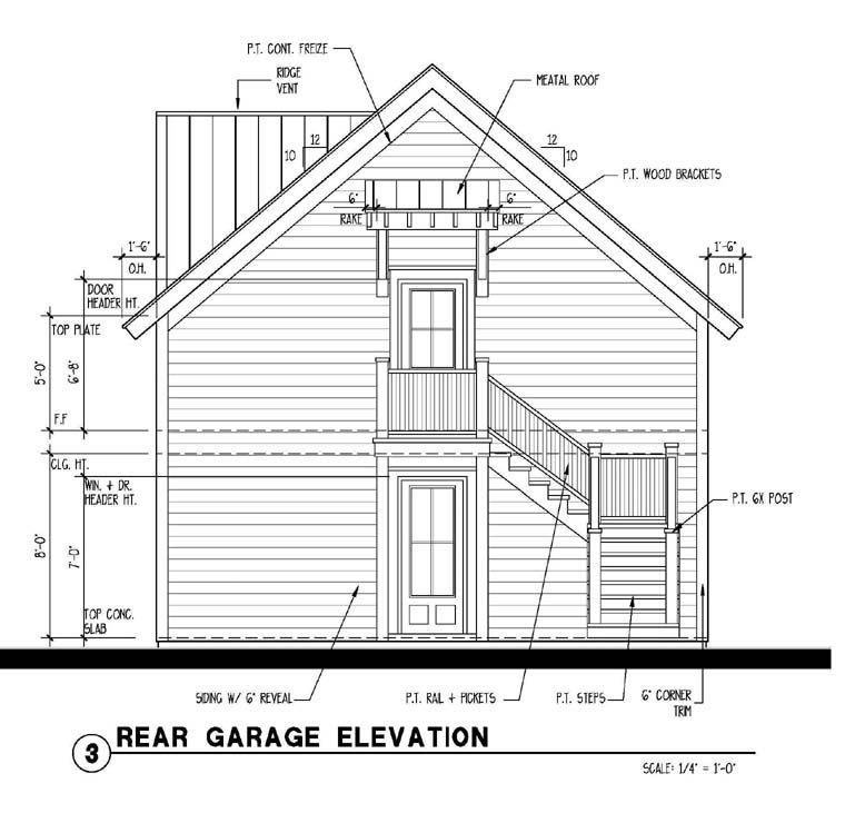 Historic Style 2 Car Garage Apartment Plan Number 73760 With 1 Bed 1 Bath Garage Plan Garage Apartment Plan Garage Plans